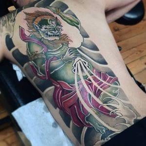 Fujin tattoo