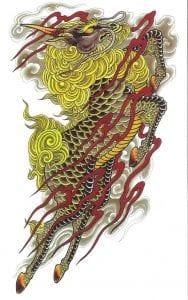 Kirin tattoo design