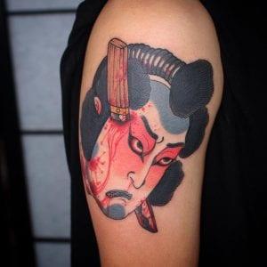 Namakubi tattoo