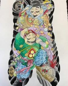 Daikoku tattoo design