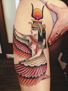 Hathor tattoo