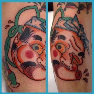 Hyottoko Tattoo