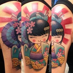 Kokeshi Doll tattoo