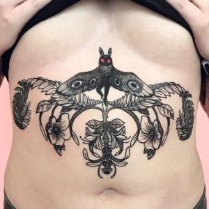 Mothman tattoo