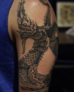 Naga tattoo
