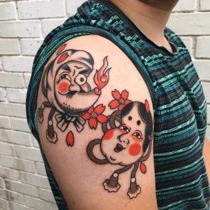 Okame tattoo
