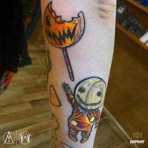 Samhain tattoo