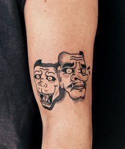Saru tattoo