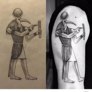 Thoth tattoo