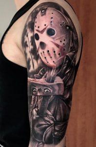 Jason Voorhees tattoo