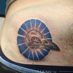 Bird Skull tattoo