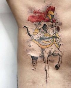 Centaur tattoo