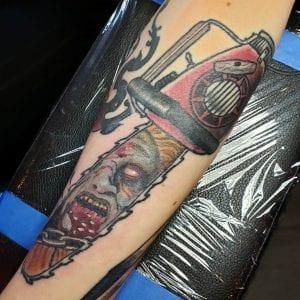 Evil Dead tattoo
