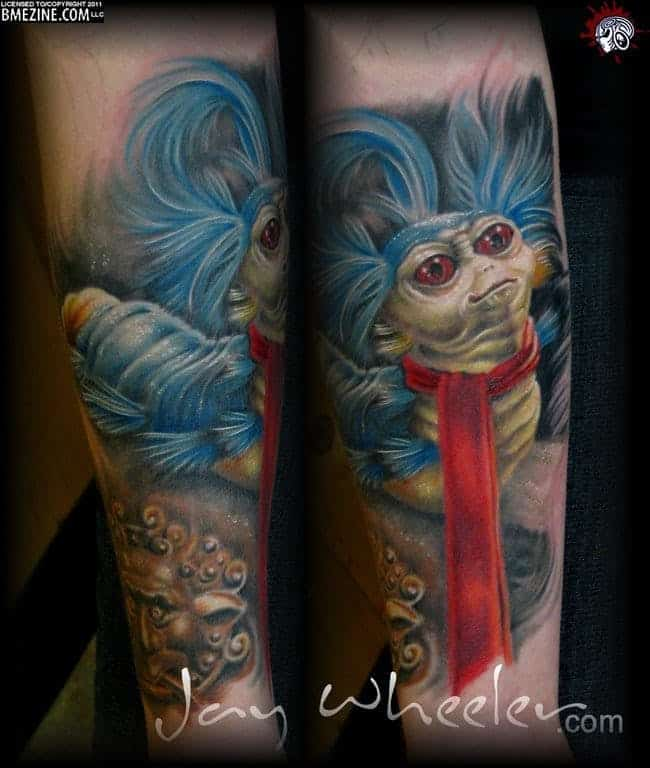 Jay Wheeler Tattoo