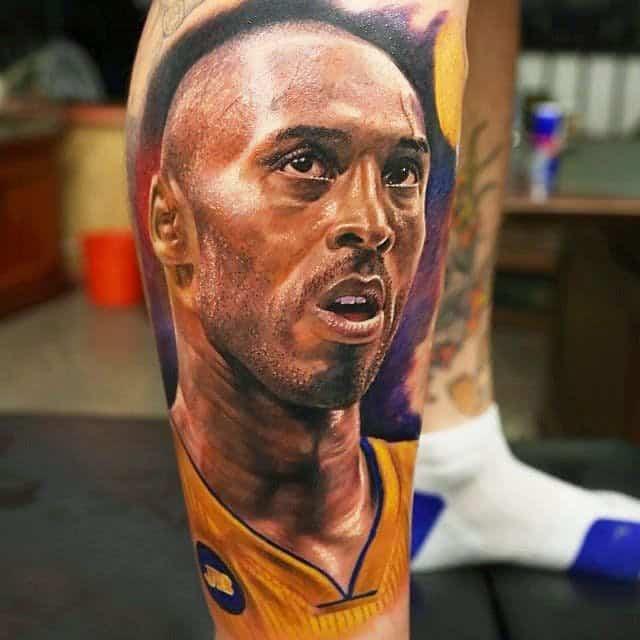 Kobe Bryant tattoo