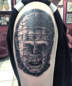 Pinhead tattoo