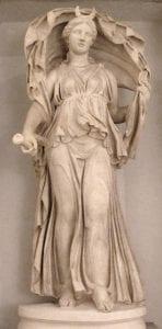 Selene Goddess statue