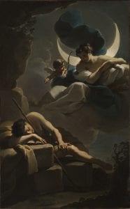 Selene Goddess painting