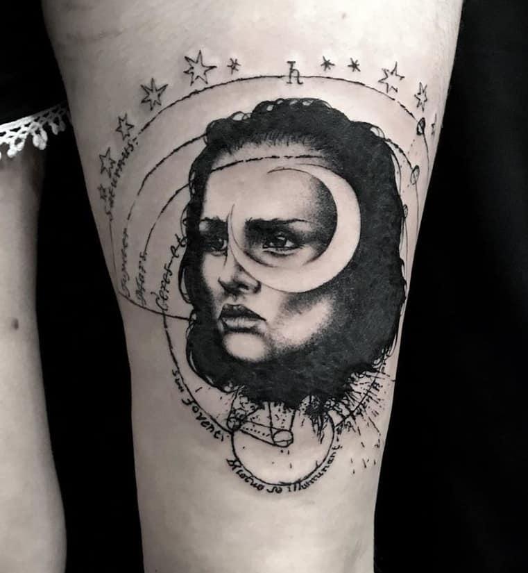 Selene Tattoo