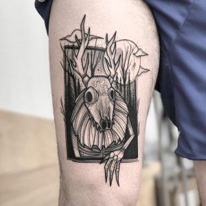 Wendigo tattoo