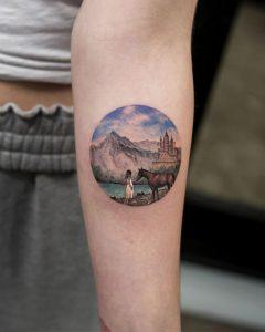 Nature tattoo