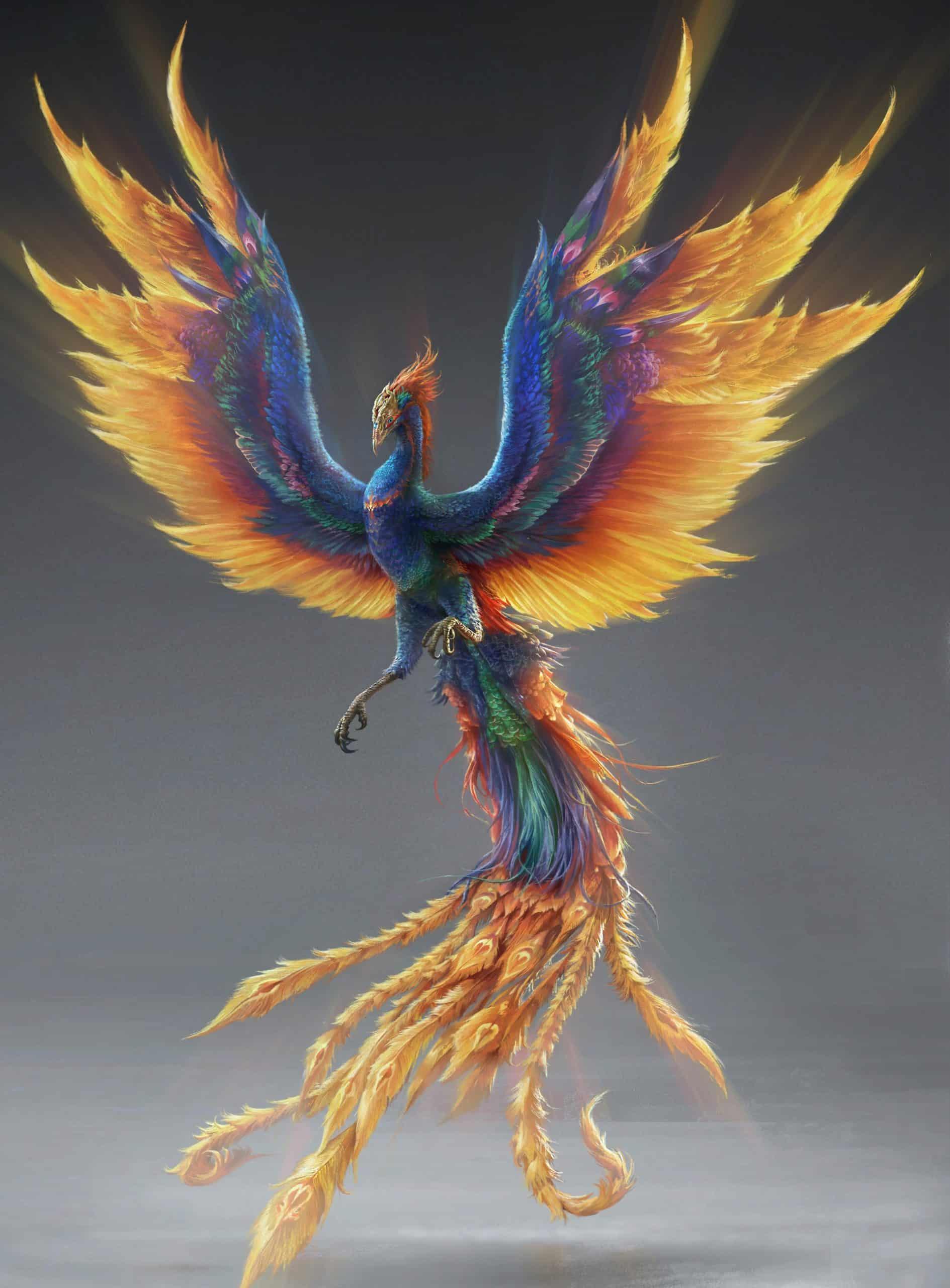 Phoenix | Ni Tian Xie Shen (Against the Gods) Wikia | Fandom
