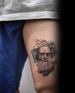 Zeus tattoo