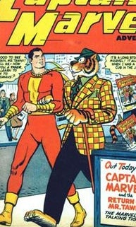 Captain Marvel and Mr. Tawky Tawny
