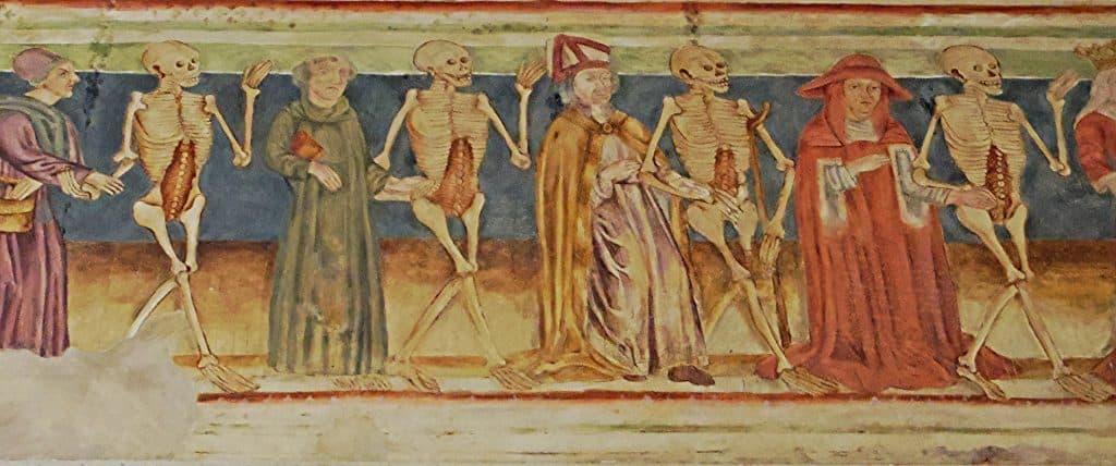 The Danse Macabre Paintings