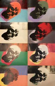 Skulls by Andy Warhol