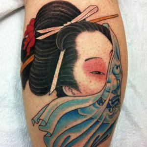 Geisha Tattoos Explained How Did Westerners Get Geishas So Wrong