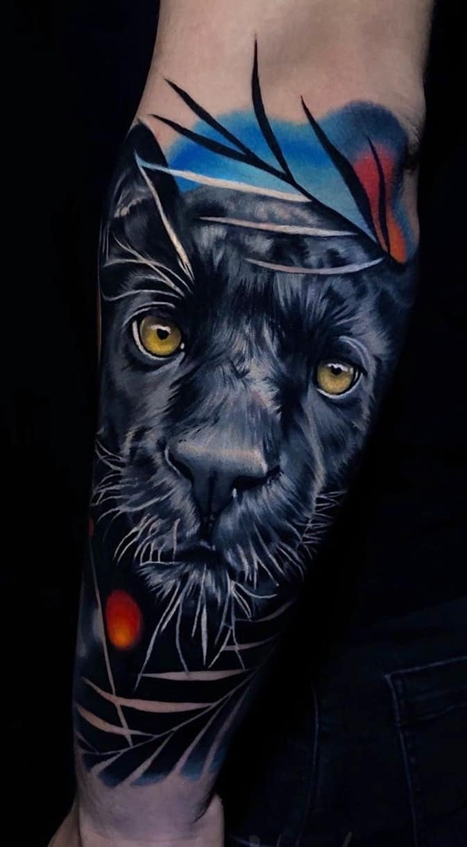 Panther Tattoos Meanings Tattoo Designs Ideas