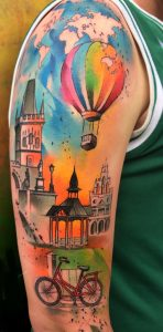 Travel Inspired Tattoo