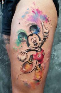Watercolor Contemporary Tattoo