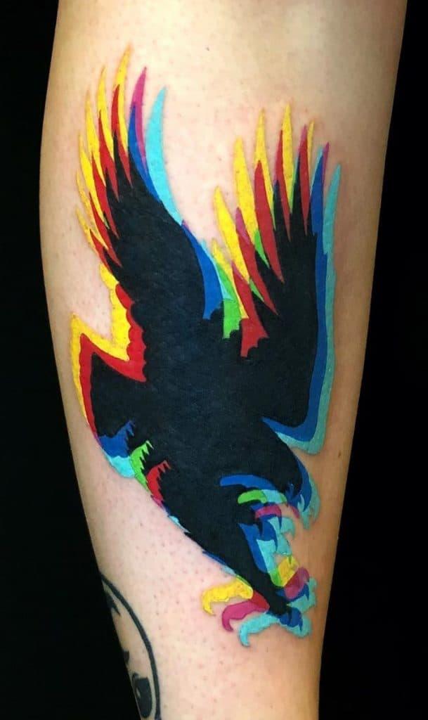 Contemporary Eagle Tattoo