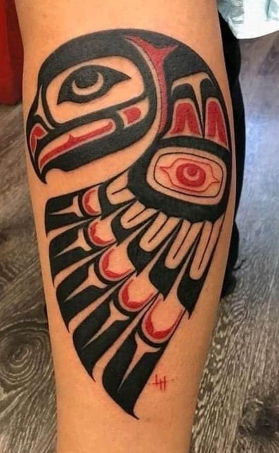 Haida Eagle Tattoo