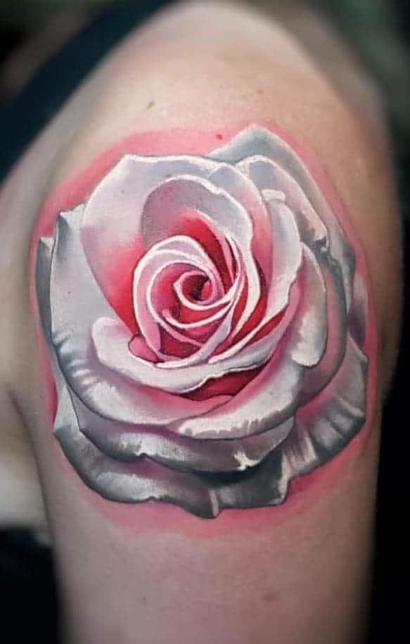 Illustrative Rose Tattoo