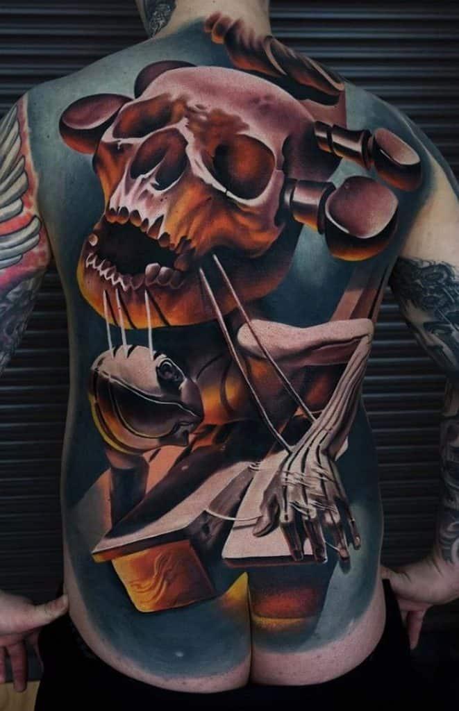 Large Skull Tattoo