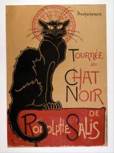 """""""Le Chat Noir"""" Poster"""