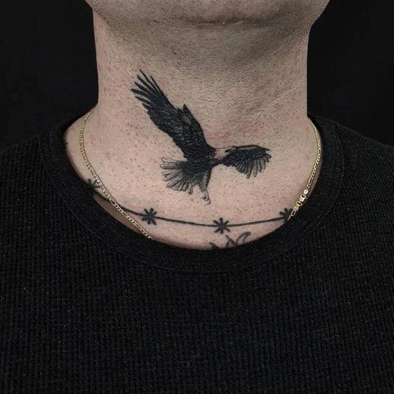 Small Eagle Tattoo