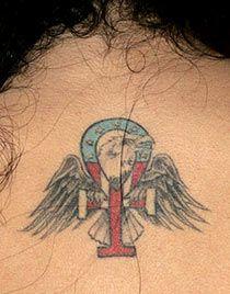 Amy Winehouse Eagle Tattoo