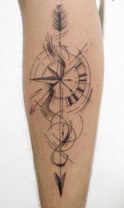 Arrow Sketch Tattoo