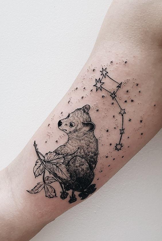 Baby Bear Tattoo