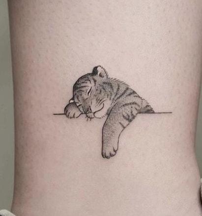 Baby Tiger Tattoo