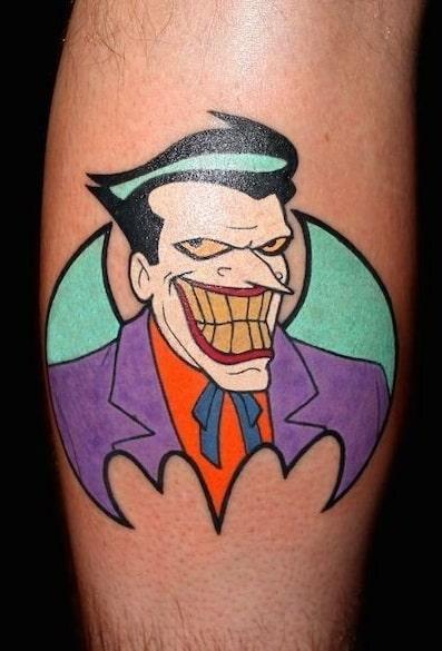 Batman and Joker Tattoo