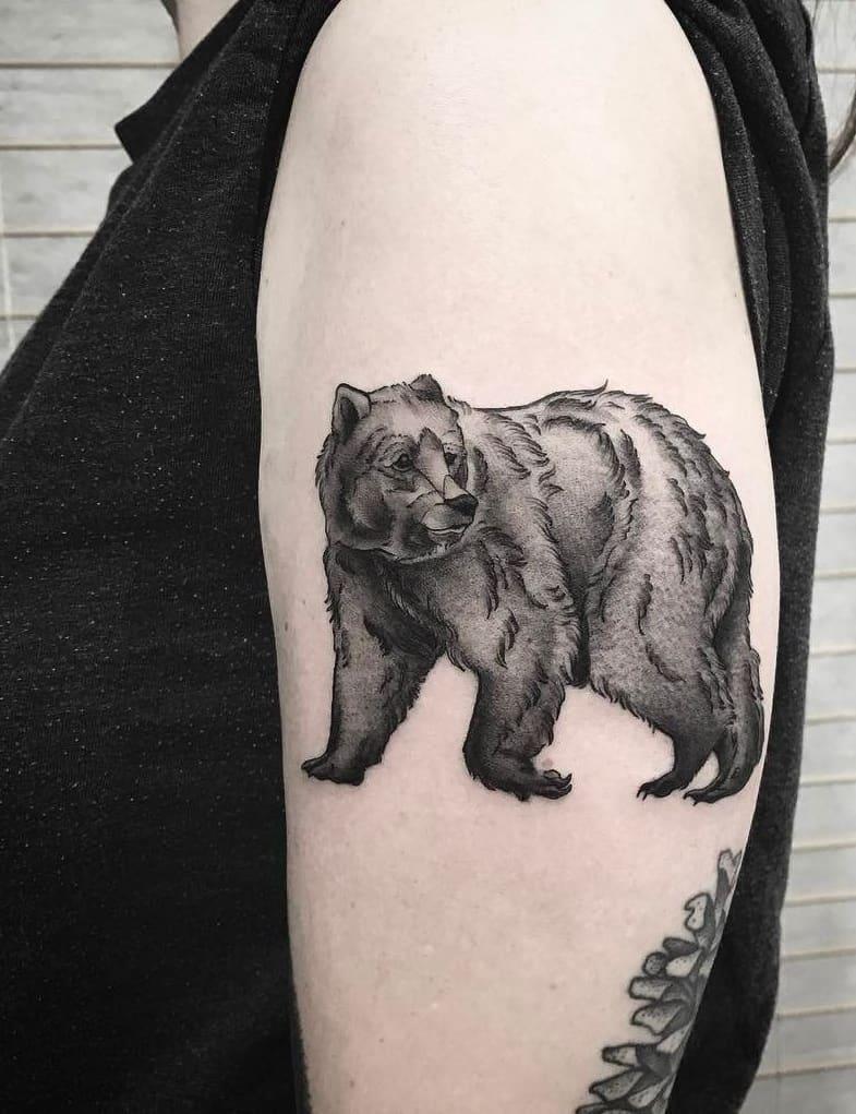 Bear Tattoos For Women