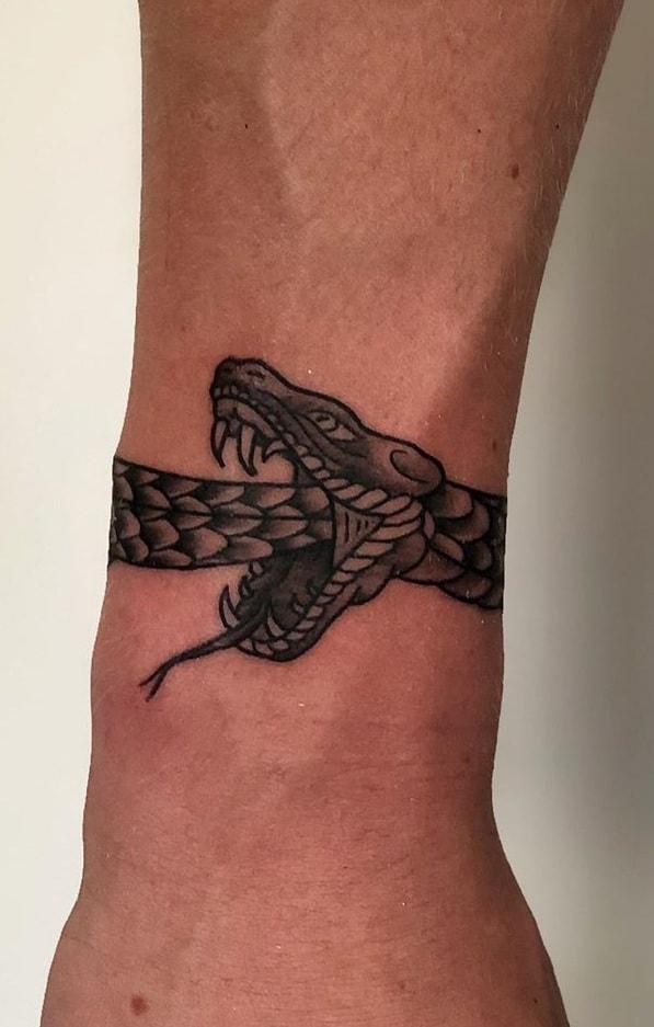Bracelet Ouroboros Tattoo