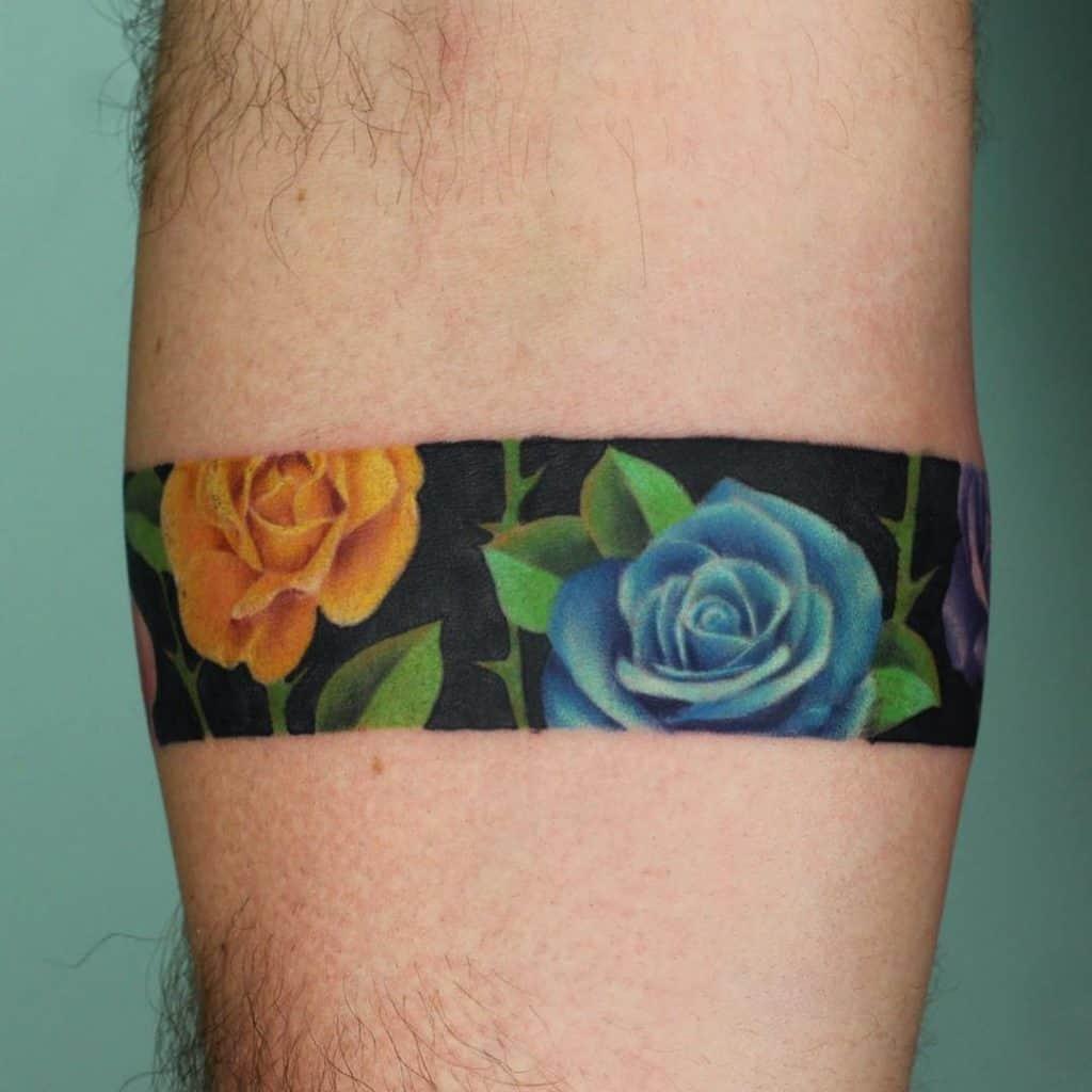 Bracelet Rose Tattoo