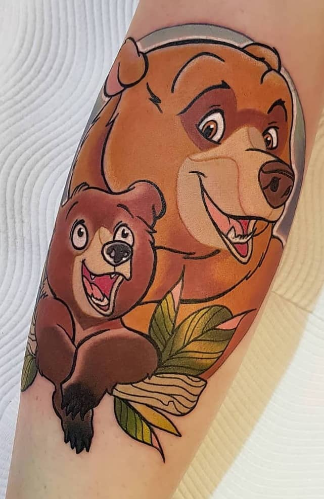 Brother Bear Tattoo