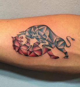 Bull and Bear Tattoo